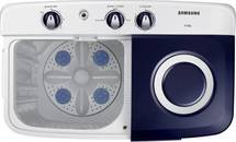 Samsung 6.5 Kg Semi Automatic Top Load White, Blue, Grey (Wt65r2000hl/Tl) (Light Gray)