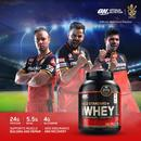 Optimum Nutrition (On) Gold Standard 100% Whey Protein Powder - 2.27 Kg/5 Lbs (Double Rich Chocolate), Primary Source Isolate