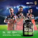 Optimum Nutrition (ON) Serious Mass Weight Gainer Protein Powder - 2.72 kg/6 lbs, (Chocolate)