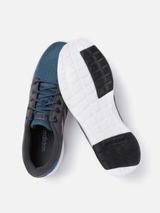 Adidas Men Teal Blue & Grey Colourblocked Storm Runner Running Shoes