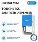 Oakter OakMist Mini - Touchless Hand Sanitizer Dispenser Developed by DRDO Automatic Spray contactless Machine for Home and Office Made in India 1.2L