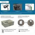 Oakter Tankbolt - Fill Your Water Tank Automatically Monitor Level with Mobile App Automatic Controller And Indicator (With100 Feet Sensor Wire for 4 Floors) DIY Installation