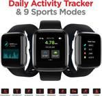boAt Storm Smartwatch Black (Fitness & Outdoor)
