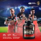 Optimum Nutrition (On) Gold Standard 100% Whey Protein Powder - 5 Lbs, 2.27 Kg (French Vanilla Creme), Primary Source Isolate