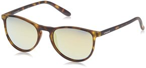 Polaroid Polarized Oval Women'S Sunglasses (48 Yellow Color Lens) (Yellow)