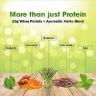 OZiva Protein & Herbs for Women, Vanilla Almond, 16 Servings, 0g added Sugar