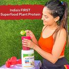 OZiva Superfood Plant Protein with Ayurvedic Herbs & Multivitamins for boosting Immunity Energy, Soy Free (Melon\)