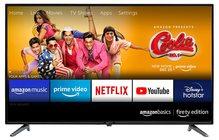 Amazon AmazonBasics 81cm (32 inches) Fire TV Edition HD Ready Smart LED AB32E10SS (Black)
