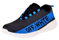 Aadi Men Blue Mesh Running Sport Shoes