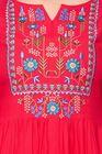 Deep Fashions Women Ethnic Red Festive Kurtas
